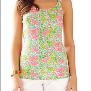 Lilly Pulitzer Hot Wings Tabbie Tank Top